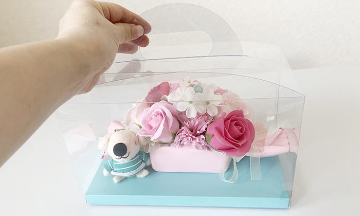 ハンドル付きボックスの写真