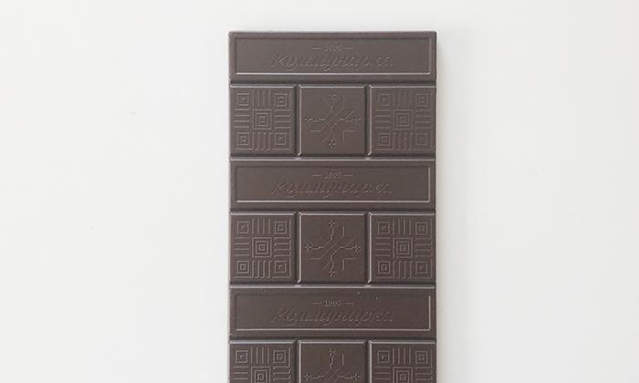 パッケージから出した板チョコ