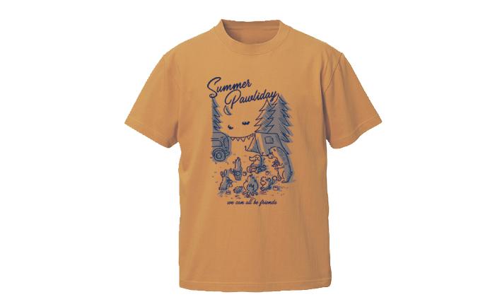 キャメルのTシャツ