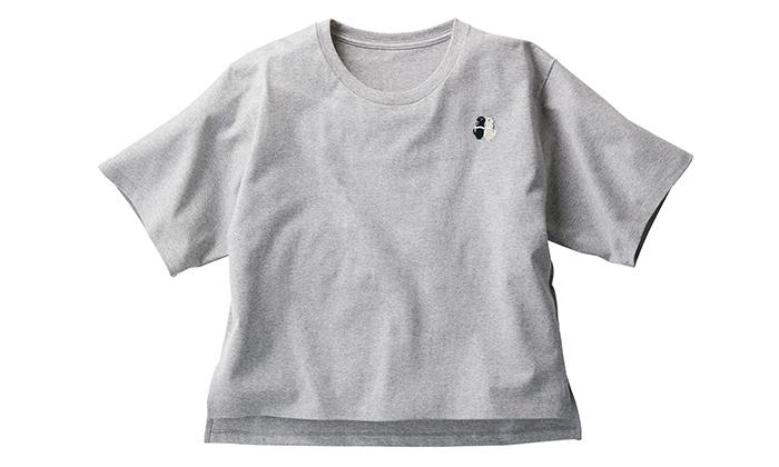 刺しゅうのTシャツ