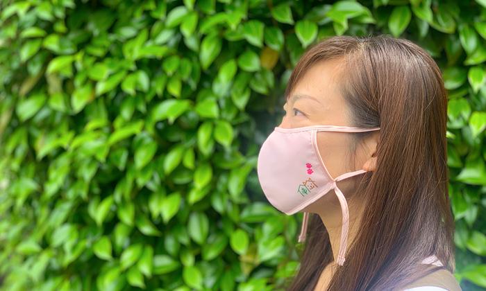 マスク着用イメージ。